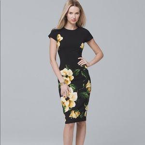 White House Black Market Floral dress size 16 NWOT